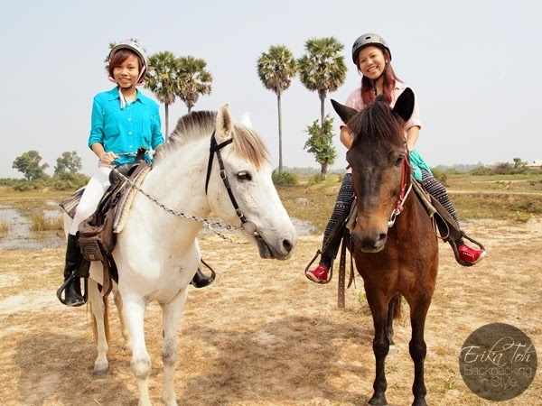 4D/3N Backpacking Siem Reap : The Happy Ranch Horse Farm (Comic