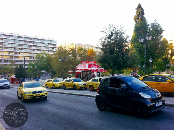ErikaToh-Backpacking-In-Style-Syntagma-Square-X95-Bus-Stop-Athens-International-Airport-1