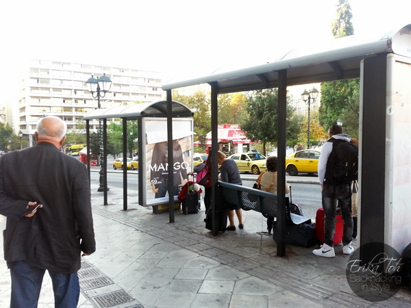 ErikaToh-Backpacking-In-Style-Syntagma-Square-X95-Bus-Stop-Athens-International-Airport-3