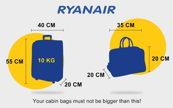 Ryanair-Carry-On-Baggage-Allowance