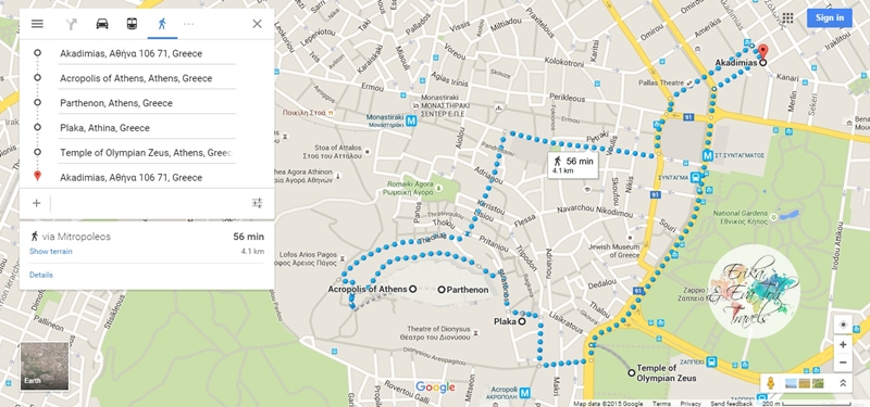 ErikaEvaTohTravels-POI-in-Athens-Walking-Map
