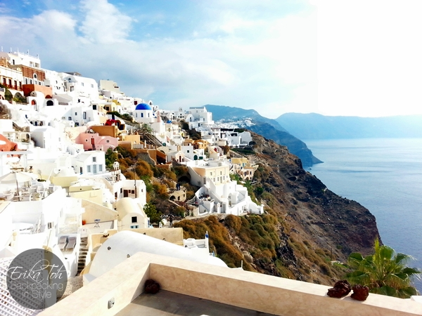 ErikaToh-Backpacking-In-Style-Iconic-Three-Blue-Domes-Oia-Santorini-2