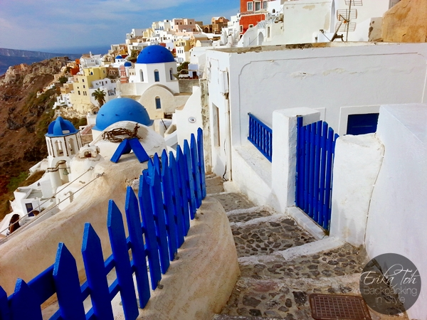 ErikaToh-Backpacking-In-Style-Iconic-Three-Blue-Domes-Oia-Santorini-5