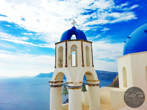 ErikaToh-Backpacking-In-Style-Iconic-Three-Blue-Domes-Oia-Santorini-7