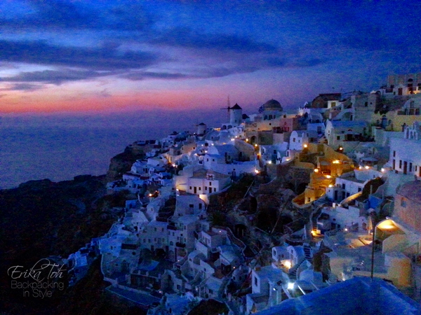 ErikaToh-Backpacking-In-Style-Old-Castle-Fort-Londsa-Sunset-Oia-Santorini-7