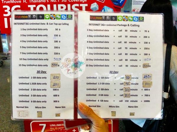 ErikaEvaTohTravels-TrueMove-3G-Tourist-Internet-SIM-Package-Krabi-International-Airport-1