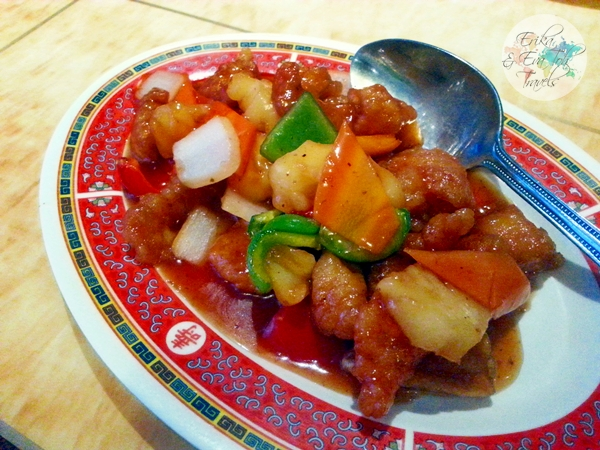 ErikaEvaTohTravels-Chinatown-Gerrard-Street-London-Dinner-at-Gourmet-Kitchen-Sweet-Sour-Chicken