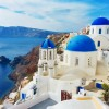 3D/2N Backpacking Santorini Without A Tour (Part 6) : A Spectacular Sunset And Blue Hour From The Old Castle & Finding The Iconic Three Blue Domes Postcard View In Oia